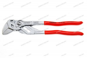 Клещи переставные-гаечный ключ Knipex 86 03 250, с однокомпонентными ручками, хромированные, 125 mm, KN-8603250