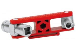 Универсальный ключ Knipex 00 11 06 V02 для электрошкафов, 97 mm, KN-001106V02