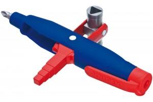 Ключ для электрошкафов Knipex 00 11 08, штивтовой, пластик усиленный стекловолокном, 145 mm, KN-001108