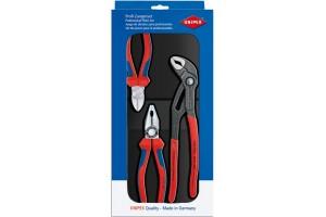 Набор инструментов Knipex 00 20 09 V01, в блоке из пластика глубокой штамповки, 3 предмета, KN-002009V01