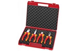 "Чемодан Knipex 00 20 15, ""Kompakt-box"" с инструментом, 4 предмета, KN-002015"