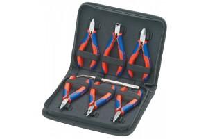 Набор инструментов Knipex 00 20 16, для электроники, в планшете из прочного полиэсера, 7 предметов, KN-002016