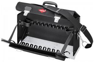 Чемодан Knipex 00 21 02 LE, New Classic Basic, усиленный полиэстер, пустой, 420 x 250 x 160 мм, KN-002102LE