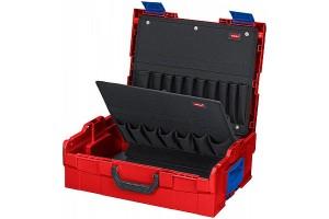 Чемодан Knipex 00 21 19 LB, L-BOXX®, ударопрочный пластик ABS, пустой, 311 x 107 x 378 мм, KN-002119LB