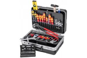 Чемодан Knipex 00 21 21 HKS, с инструментом для сантехника, 460 x 310 x 190 мм, KN-002121HKS