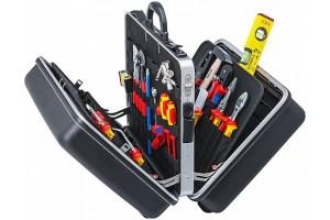 "Чемодан Knipex 00 21 40, ""BIG Twin"" Elektro с набором инструмента электрика, 65 предметов, 490 x 255 x 410 мм, KN-002140"