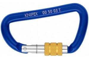 Карабин Knipex 00 50 03 TBK, для фиксации инструмента со страховочной петлёй, 2шт., KN-005003TBK
