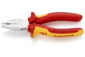 Плоскогубцы Knipex 01 06 160, комбинированные, диэлектрические, 160мм., KN-0106160