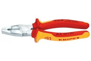 Плоскогубцы Knipex 01 06 190, комбинированные, диэлектрические, 190мм., KN-0106190