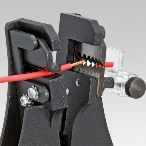 Стриппер Knipex 12 11 180, для снятия изоляции, автоматический, 0, 5 / 1, 2 / 1, 6 / 2, 0 O mm, KN-1211180