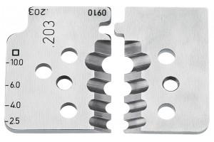 Комплект запасных ножей Knipex 12 19 10, для инструмента 12 12 10, KN-121910