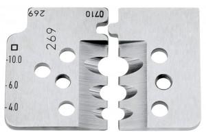 Комплект запасных ножей Knipex 12 19 12, для инструмента 12 12 12, KN-121912