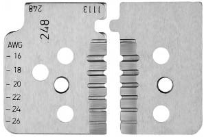 Комплект запасных ножей Knipex 12 19 14, для инструмента 12 12 14, KN-121914