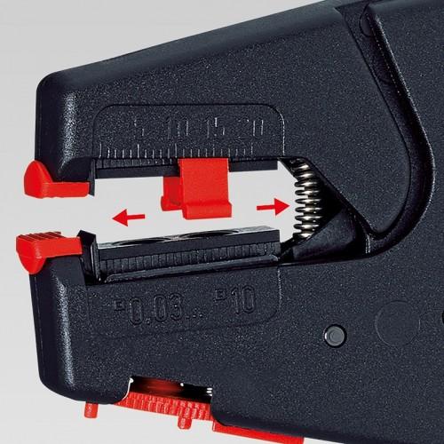 Стриппер Knipex 12 40 200, самонастраивающийся, патентованный, 0, 03 - 10, 0 кв.мм, KN-1240200