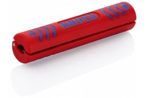 Стриппер Knipex 16 60 10 0SB для снятия изоляции с коаксиальных кабелей, ⌀ 4, 8 - 7, 5 мм, KN-1660100SB