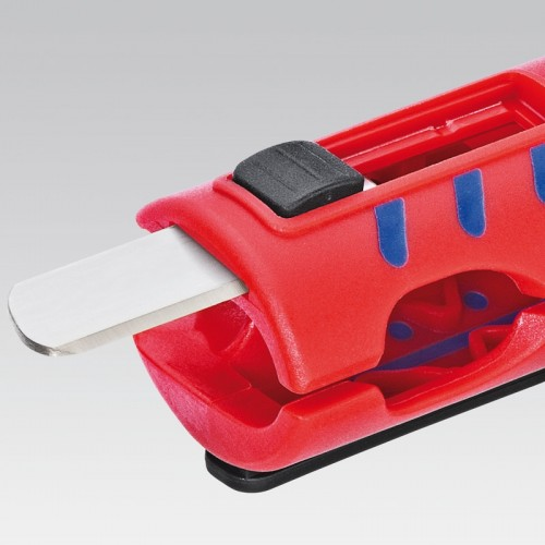 Стриппер Knipex 16 80 12 5SB для снятия изоляции с круглых кабелей, ⌀ 8, 0 - 13, 0 mm, KN-1680125SB