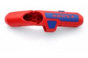Стриппер Knipex 16 95 02 SB ErgoStrip®, под левую руку, ⌀ 8, 0 - 13, 0 mm, KN-169502SB