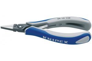 Плоскогубцы Knipex 34 12 130, для электроники, прицезионные, 130 мм, KN-3412130