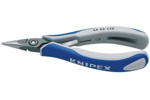 Плоскогубцы Knipex 34 22 130, для электроники, прицезионные, 130 мм, KN-3422130