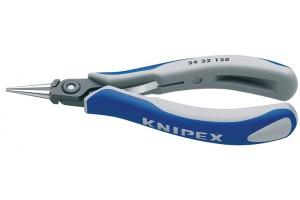 Плоскогубцы Knipex 34 32 130, для электроники, прицезионные, 130 мм, KN-3432130