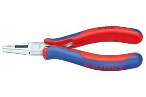 Плоскогубцы Knipex 36 12 130, для электроники, коробчатый шарнир, зеркально полированные, 130 мм, KN-3612130