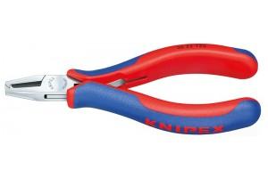 Плоскогубцы Knipex 36 22 125, для электроники, коробчатый шарнир, зеркально полированные, 125 мм, KN-3622125