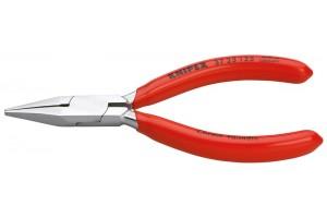 Плоскогубцы Knipex 37 23 125, захватные, для точной механики, 125 мм, KN-3723125