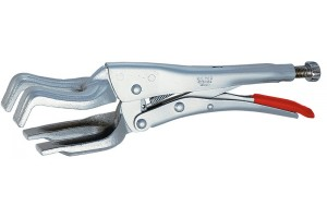 Клещи Knipex 42 24 280, зажимные сварочные, оцинкованные, 280 мм, KN-4224280