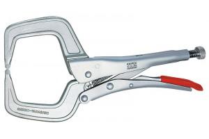 Клещи Knipex 42 34 280, зажимные сварочные, оцинкованные, 280 мм, KN-4234280