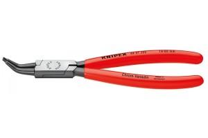 Щипцы Knipex 44 31 J42, для стопорных колец (внутренних), изогнутые ∡45°, чернёные, для отверстий ⌀ 85-140 мм, KN-4431J42