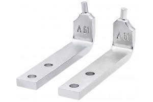 Сменные наконечники Knipex 46 29 A61, для кольцесъёмников (внешних), изогнутые ∡90°, KN-4629A61