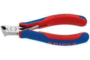 Кусачки Knipex 62 12 120, торцевые для электроники, коробчатый шарнир, полированные, 120 mm, KN-6212120