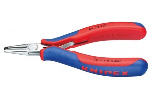 Кусачки Knipex 64 22 115, торцевые для электроники, коробчатый шарнир, полированные, 115 mm, KN-6422115
