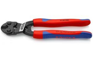 Болторез Knipex 71 02 200, CoBolt, с двухкомпонентными пластиковыми чехлами, черненые, 200 mm, KN-7102200