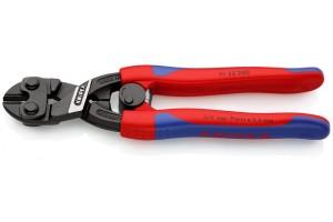Болторез Knipex 71 32 200, CoBolt® с выемкой в режущей кромке, с двухкомпонентными ручками, черненые, 200 mm, KN-7132200