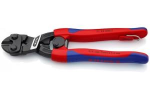 Болторез Knipex 71 32 20 0T CoBolt® с выемкой в режущей кромке, с двухкомпонентными ручками, черненые, со страховочной петлёй, 200 mm, KN-7132200T