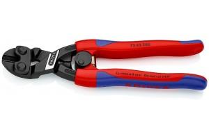 Болторез Knipex 72 62 200, CoBolt® изогнутая головека под углом ∡20°, фосфатированный, без фаски, 200 mm, KN-7262200