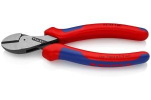 Кусачки Knipex 73 02 160, X-Cut, с высокой передачей усилия, коробчатый шарнир, полированные, 160 mm, KN-7302160