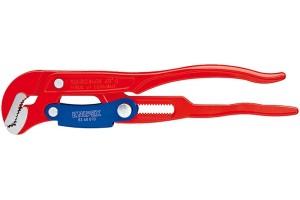 Клещи трубные Knipex 83 60 010, переставные, S-образные губки, с красным порошковым покрытием, 330 mm, KN-8360010