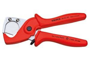 Труборез Knipex 90 20 185, для резания тонкостенных пластмассовых труб ⌀ 25 мм, KN-9020185