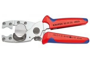 Труборез Knipex 90 25 20, для резания многослойных и гибких защитных труб, 210 mm, KN-902520