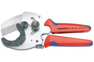 Труборез Knipex 90 25 40, для резания толстостенных пластмассовых и многослойных труб ⌀ 26-40 мм, KN-902540