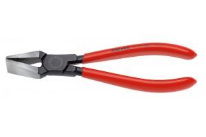 Плоскогубцы Knipex 91 31 180, для обламывания стекла, черненые, 180 mm, KN-9131180