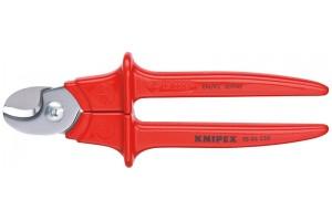Кабелерез Knipex 95 06 23 0SB, диэлектрический VDE 1000V, до 10 мм², в блистерной упаковке, 230 mm, KN-9506230SB