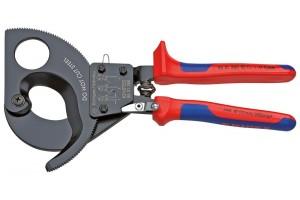 Ножницы Секторные Knipex 95 31 280, двухкомпонентные чехлы, до 380 мм², 280 mm, KN-9531280