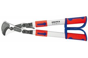Кабелерез Knipex 95 32 038, телескопические ручки, до 280 мм², 570 mm, KN-9532038