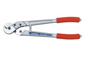 Тросорез Knipex 95 71 445, алюминиевые ручки, ⌀ троса 10 мм, 445 mm, KN-9571445