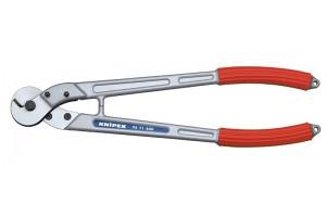 Тросорез Knipex 95 71 600, алюминиевые ручки, ⌀ троса 14 мм, 600 mm, KN-9571600