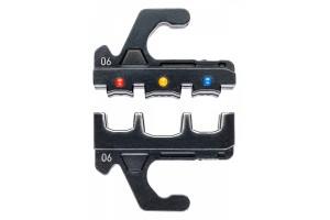 Плашка опрессовочная Knipex 97 39 06, для изолированных наконечников, 0, 5-6, 0 mm², KN-973906