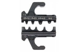 Плашка опрессовочная Knipex 97 39 13A, для ТМЛ, ГМЛ, 0, 5-10 mm², KN-973913A